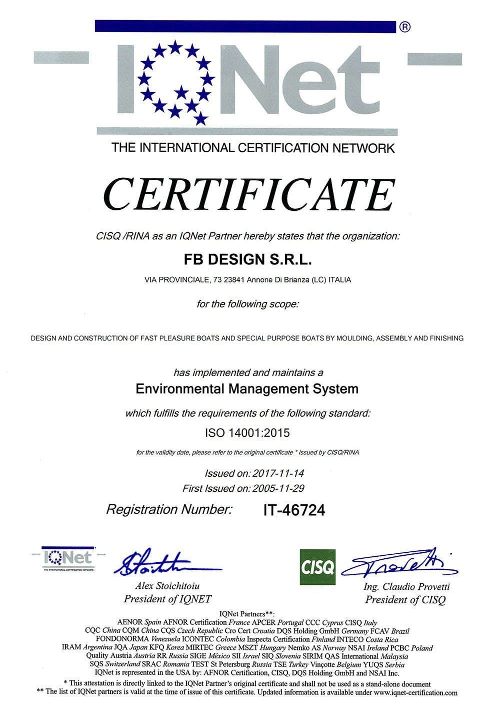ISO 14001 IQNET small