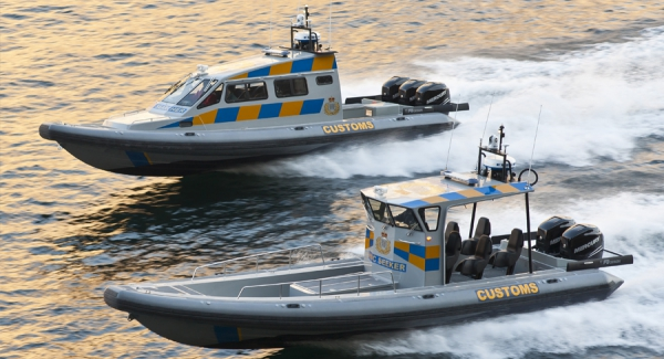 RIB 34' SF for Gibraltar HM Customs